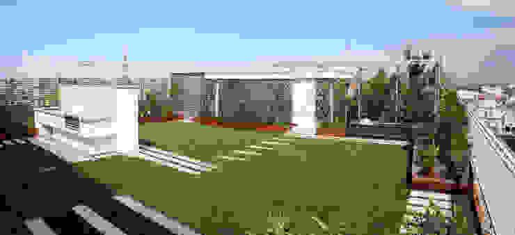 de estilo  por Febo Garden landscape designers, Moderno