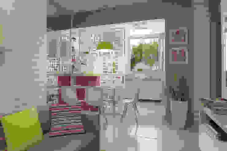 Apartamento Regiane e Bráulio Salas de jantar modernas por Anelisy Lima Arquitetura e Design Moderno