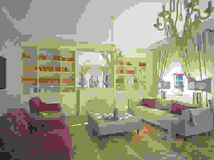 Проект квартиры Гостиная в классическом стиле от Лилия Панкова Классический