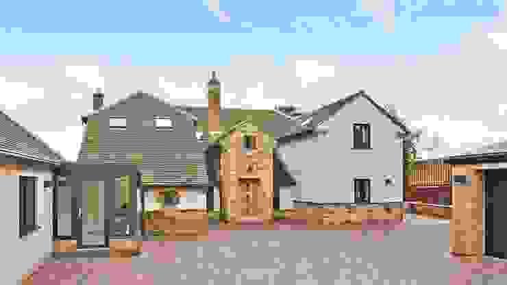 Residential Development, West Yorkshire Casas de estilo ecléctico de Wildblood Macdonald Ecléctico