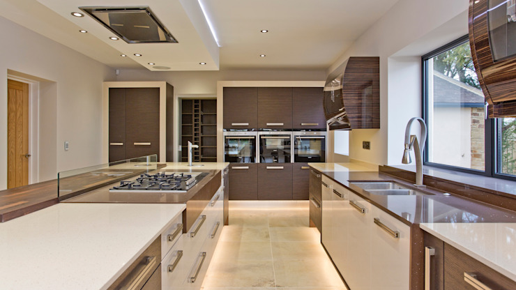 Residential Development, West Yorkshire Eclectic style kitchen by Wildblood Macdonald Eclectic