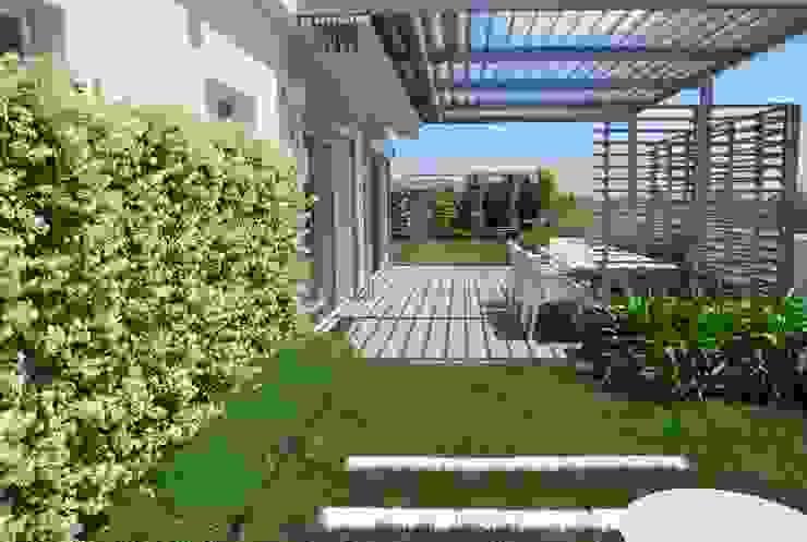 de estilo  por Febo Garden landscape designers