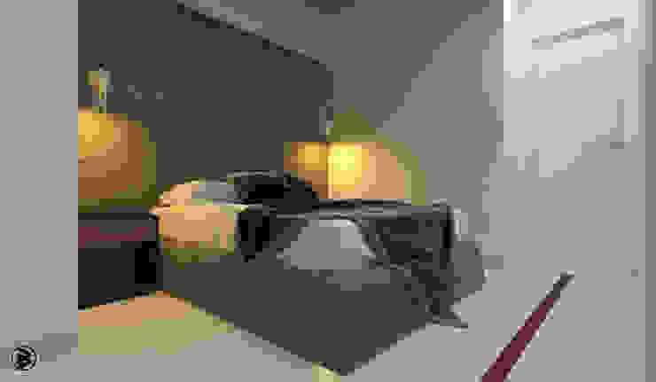 인더스트리얼 침실 by 27Unit design buro 인더스트리얼