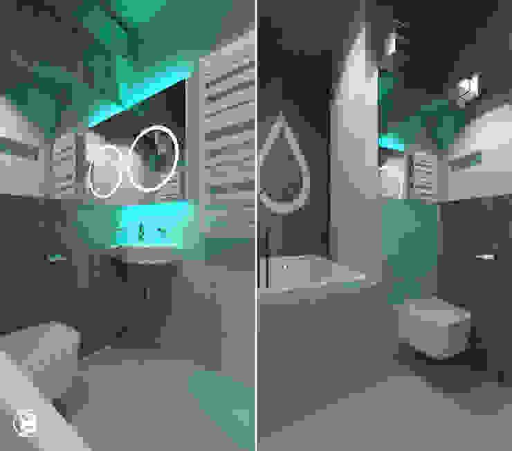 Квартира в ЖК Британский квартал Ванная в стиле лофт от 27Unit design buro Лофт