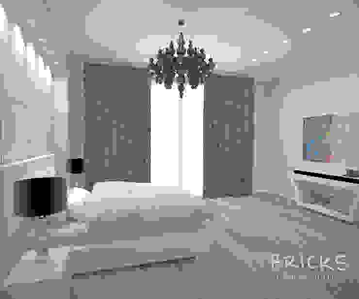 Апартаменты в центре Санкт-Петербурга. Спальня в стиле модерн от Bricks Design Модерн