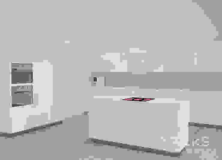 Апартаменты в центре Санкт-Петербурга. Кухня в стиле модерн от Bricks Design Модерн