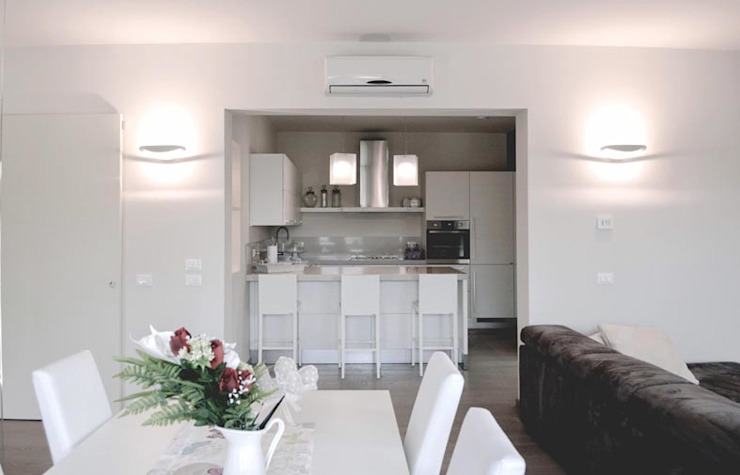 realizzazioni Modern kitchen by NCe Architetto Modern