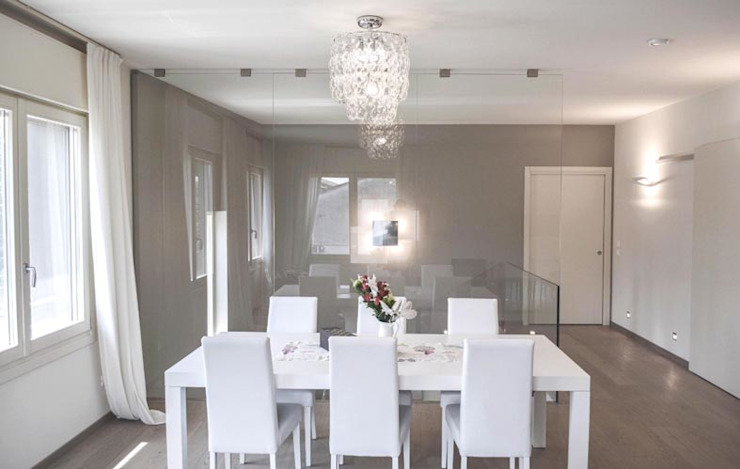 Dining room by NCe Architetto, Modern