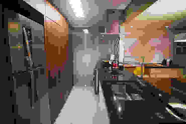 APARTAMENTO GS114 Cozinhas modernas por Aquadrado Arquitetura Moderno