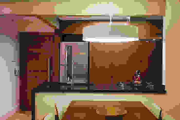 APARTAMENTO GS114 Salas de jantar modernas por Aquadrado Arquitetura Moderno