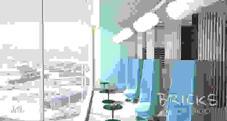 Зона отдыха в аэропорту Аэропорты в стиле модерн от Bricks Design Модерн
