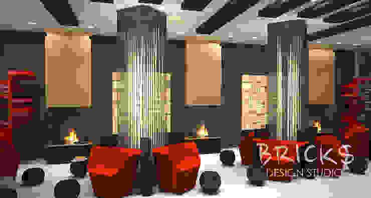 Бизнес лаундж Аэропорты в стиле модерн от Bricks Design Модерн