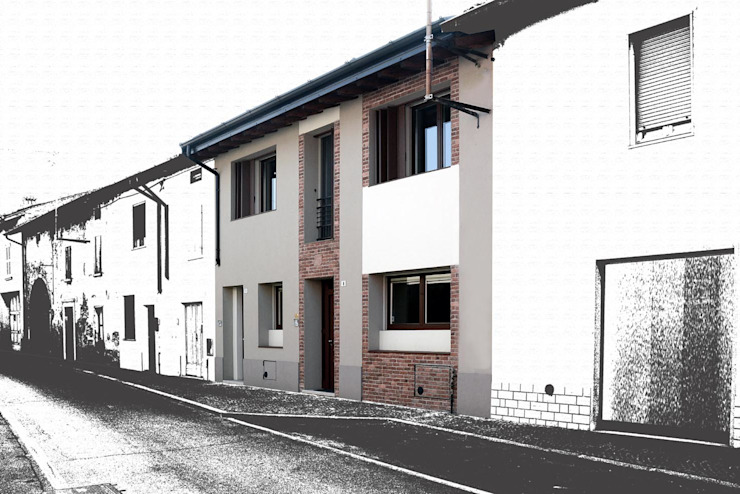 Industrial style houses by NCe Architetto Industrial
