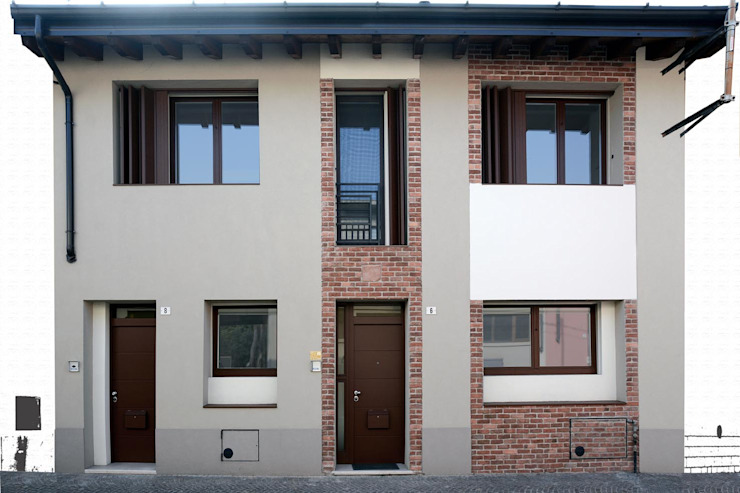 Industrial style windows & doors by NCe Architetto Industrial
