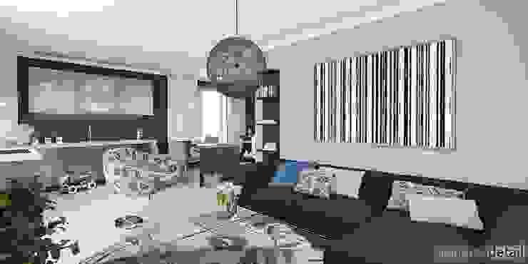 Wohnraum Moderne Wohnzimmer von planungsdetail.de GmbH Modern