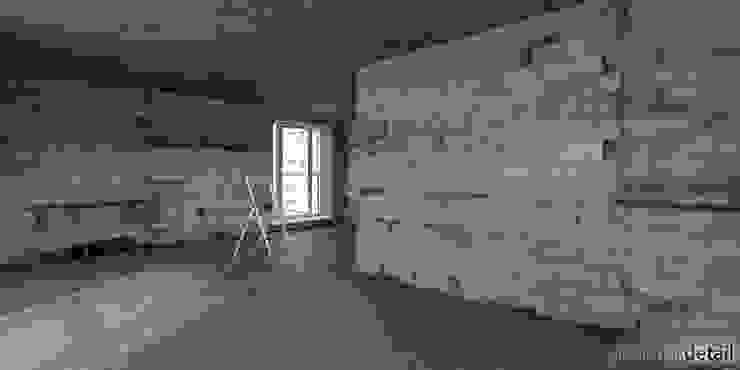 Unrenoviert Moderne Wohnzimmer von planungsdetail.de GmbH Modern