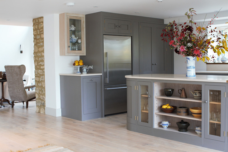 A Beautiful Open Plan Barn Conversion Country style kitchen by homify Country Solid Wood Multicolored