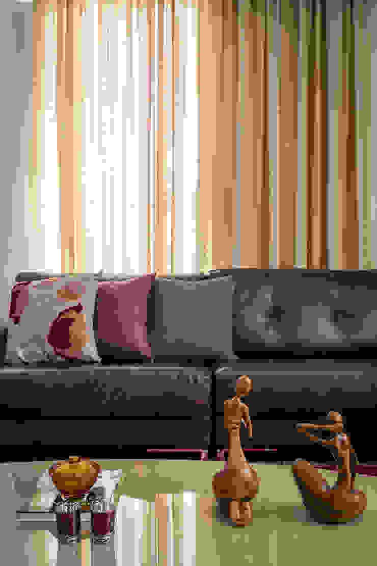 Apartamento Nova Suíça Salas de estar modernas por Melina Mundim | Design de Interiores Moderno