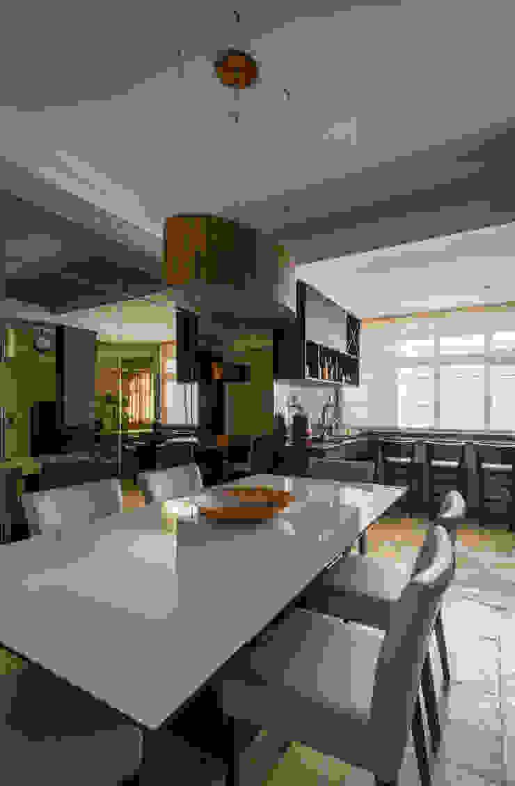 Apartamento Nova Suíça Salas de jantar modernas por Melina Mundim | Design de Interiores Moderno