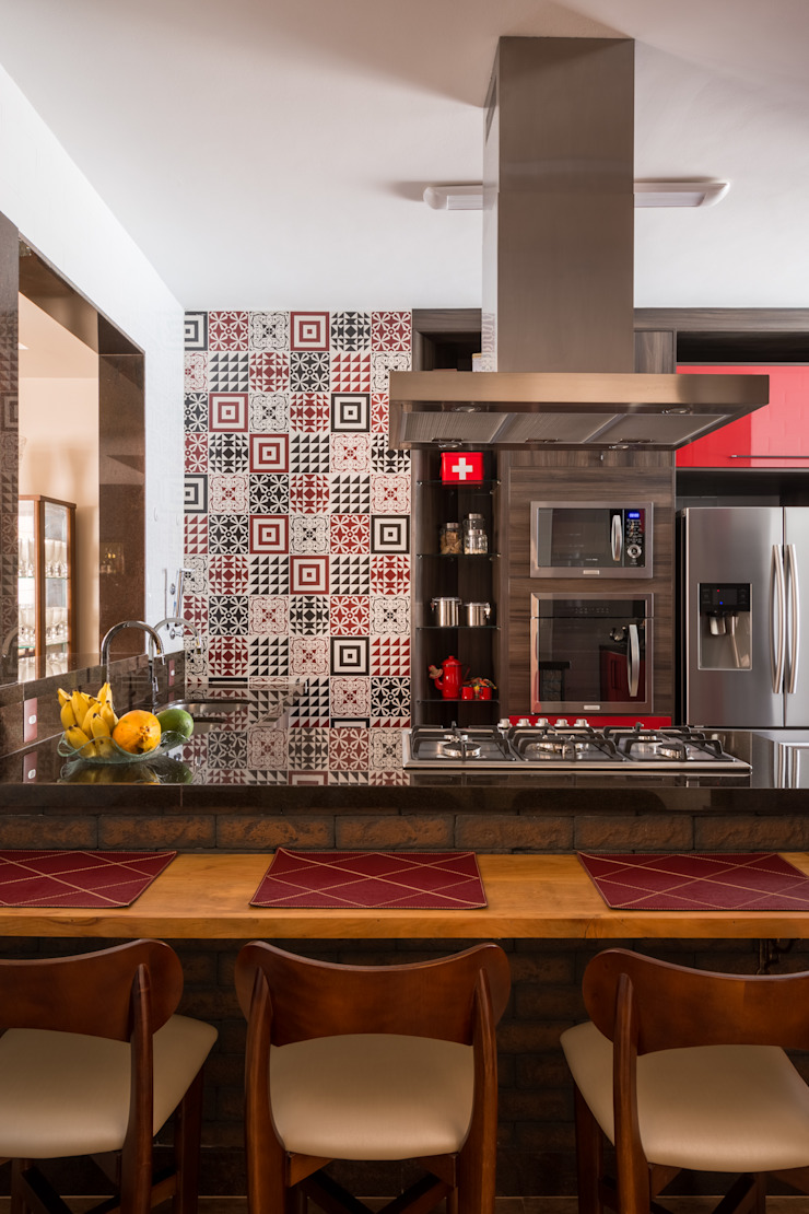 Apartamento Nova Suíça Cozinhas modernas por Melina Mundim | Design de Interiores Moderno