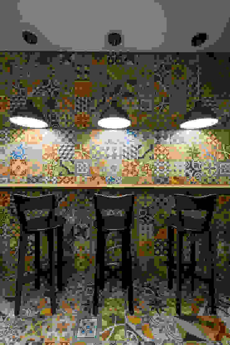 Projeto Comercial   Pizzaria Espaços gastronômicos modernos por Melina Mundim   Design de Interiores Moderno