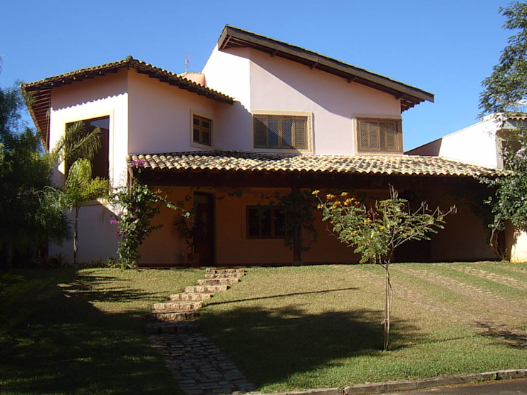 Terence Arquitetura Rustic style house