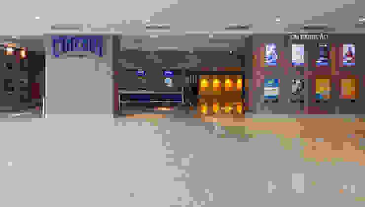 Projeto Comercial - Cineart Shopping Centers modernos por Dubal Arquitetura e Design Moderno