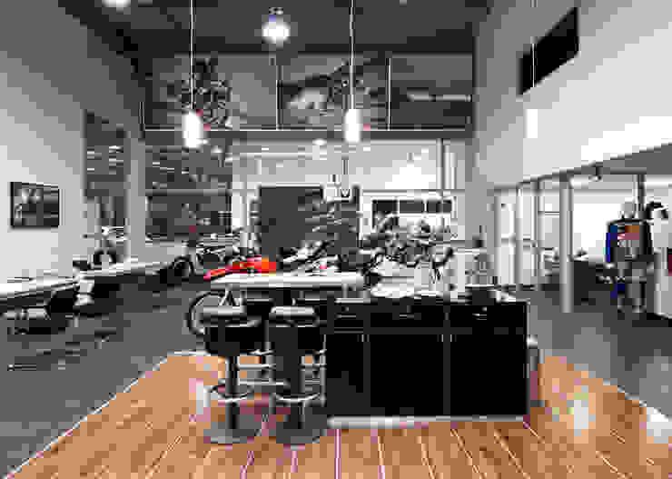 Projeto Comercial – Euroville Concessionárias modernas por Dubal Arquitetura e Design Moderno