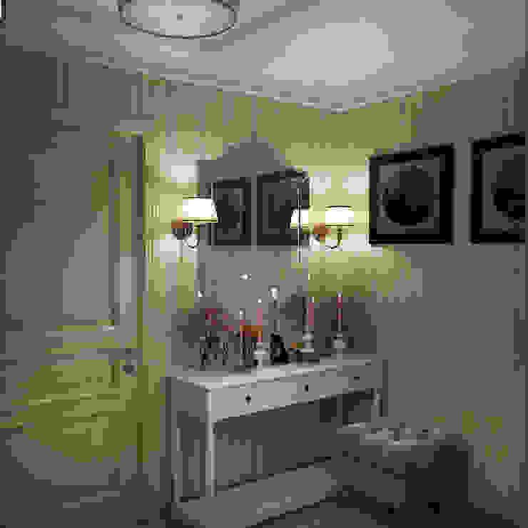 Классический стиль в однокомнатной квартире Коридор, прихожая и лестница в классическом стиле от MEL design Классический