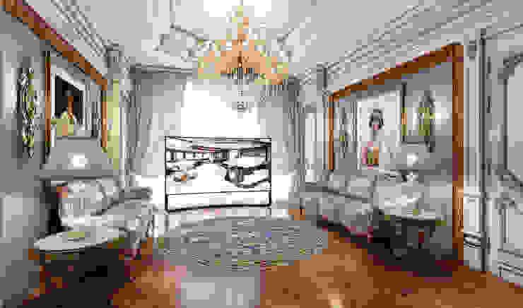 Дом в Барвихе Гостиная в классическом стиле от Domus Optima Классический