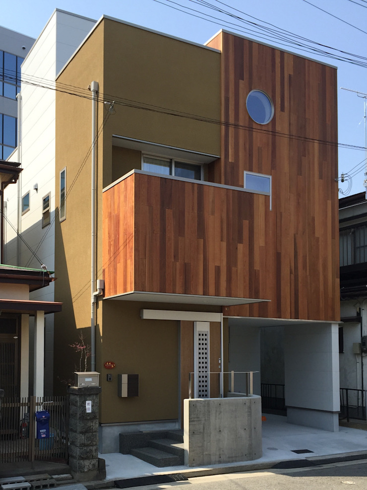 Eclectic style houses by 設計工房 A・D・FACTORY 一級建築士事務所 Eclectic