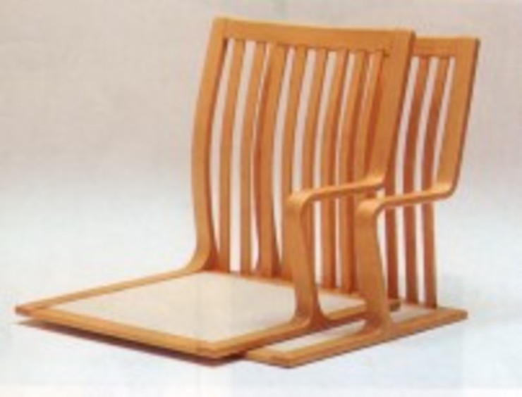 日本旅館のための家具: TANIGAWA STUDIO 家具デザインが手掛けた折衷的なです。,オリジナル
