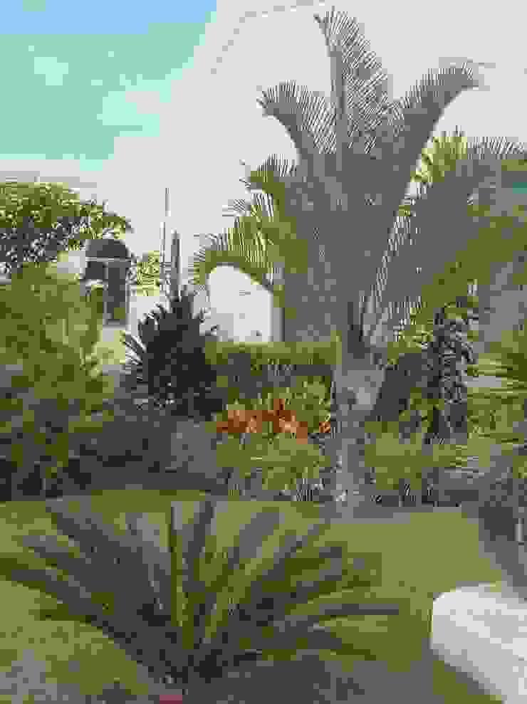 CASA CEIBA Jardines tropicales de EcoEntorno Paisajismo Urbano Tropical