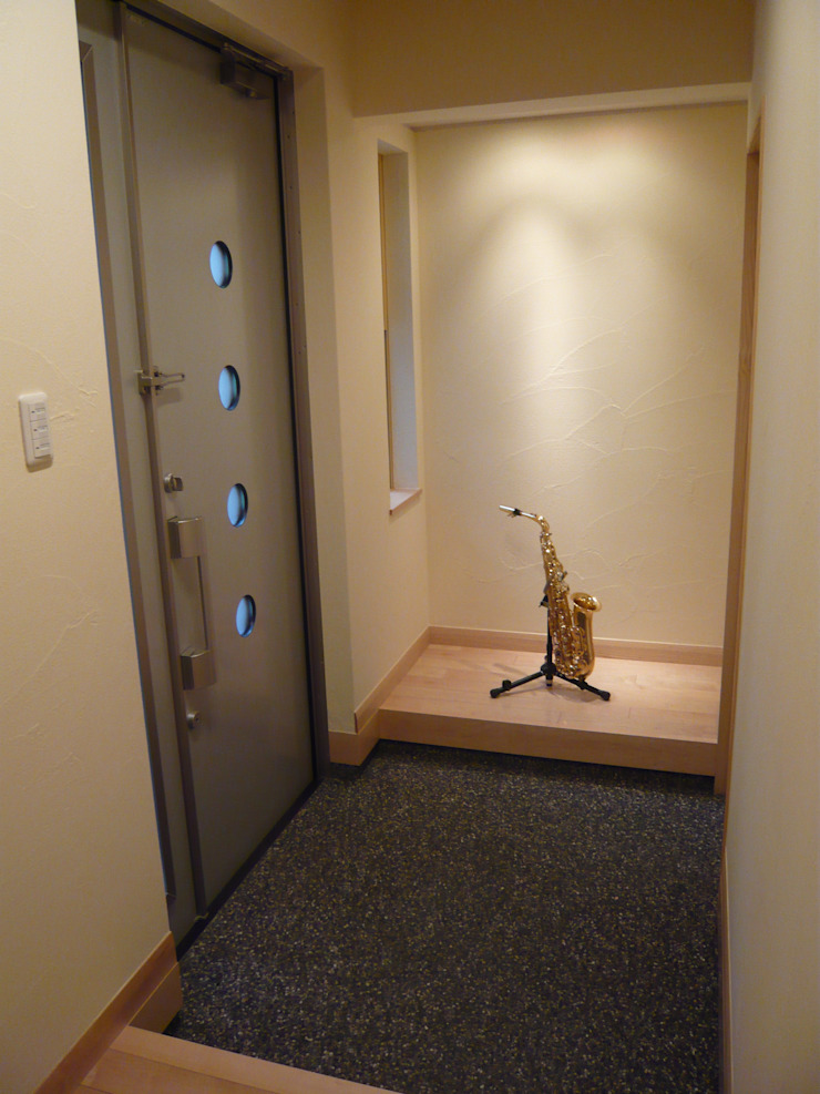 風と光と音楽と・・・@K-CITY オリジナルスタイルの 玄関&廊下&階段 の 設計工房 A・D・FACTORY 一級建築士事務所 オリジナル