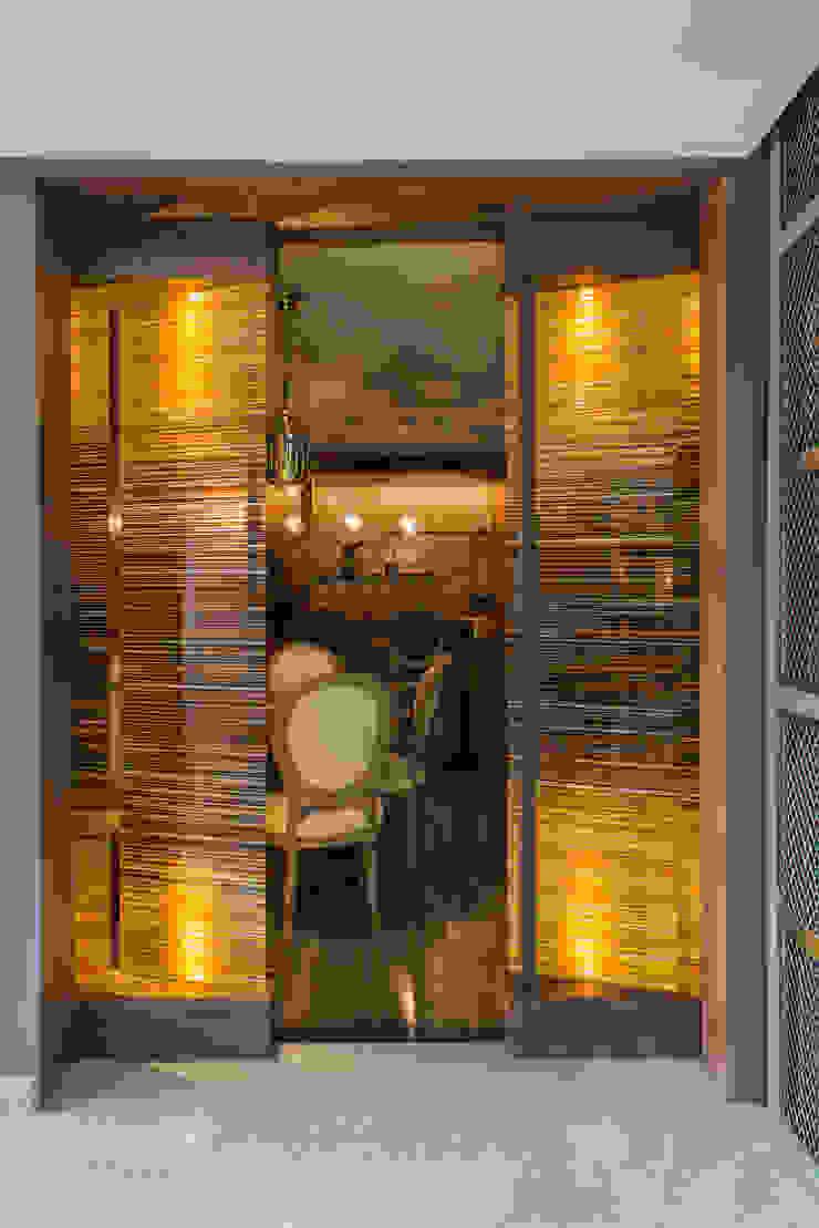 Barcodes Bares y clubs de estilo moderno de Studio Orfeo Quagliata Moderno Vidrio