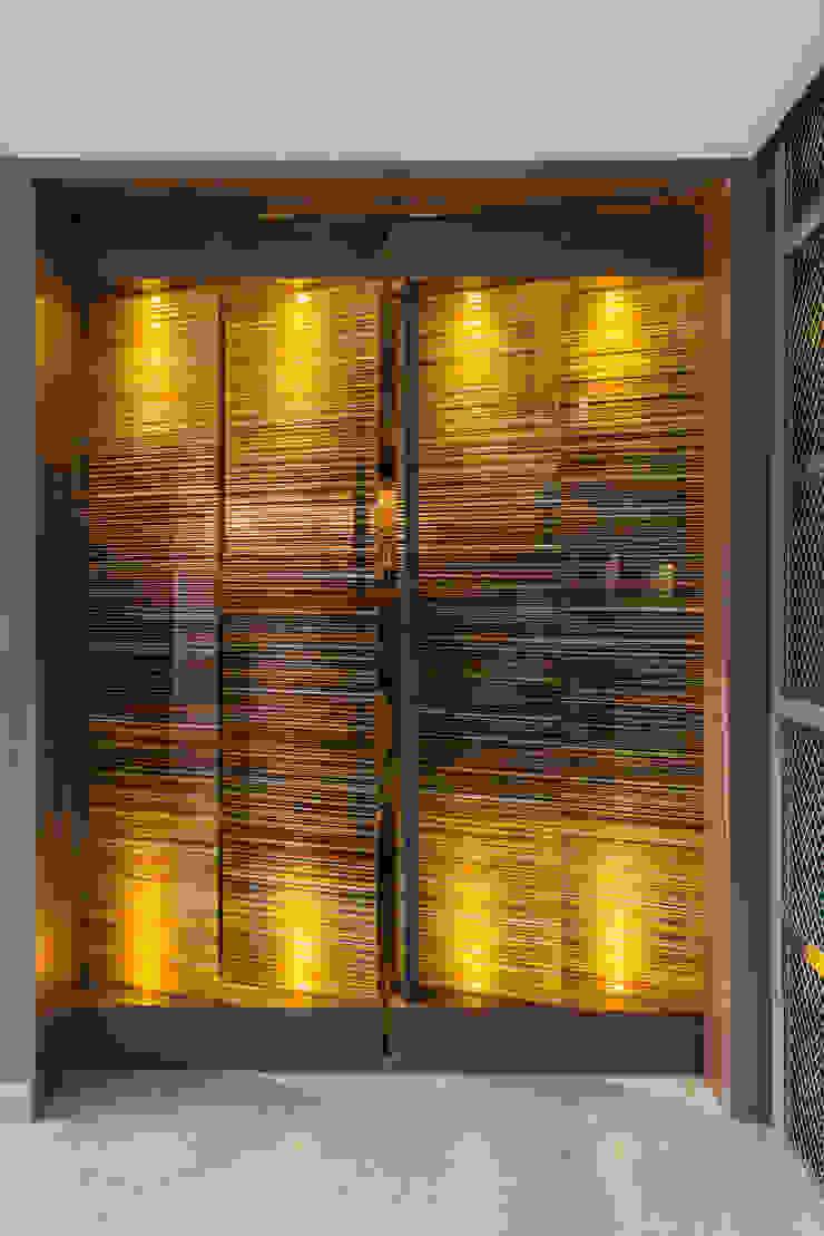 Barcodes Edificios de oficinas de estilo moderno de Studio Orfeo Quagliata Moderno Vidrio