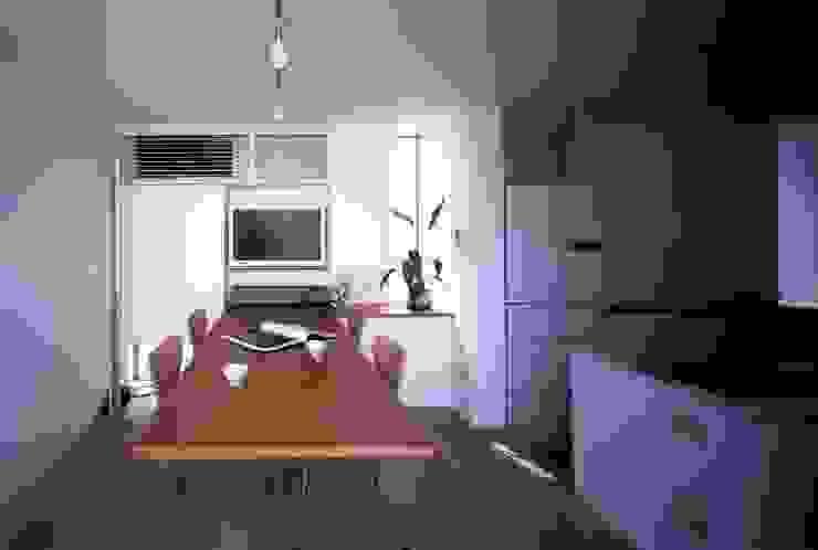 板の家 ミニマルデザインの ダイニング の スズケン一級建築士事務所/Suzuken Architectural Design Office ミニマル