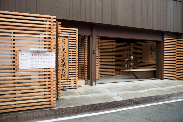 Casas asiáticas de スズケン一級建築士事務所/Suzuken Architectural Design Office Asiático