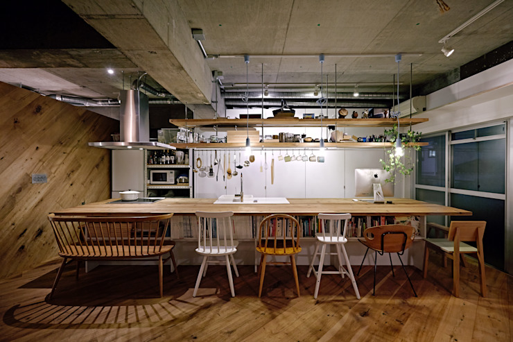 Kitchen by .8 / TENHACHI, Industrial