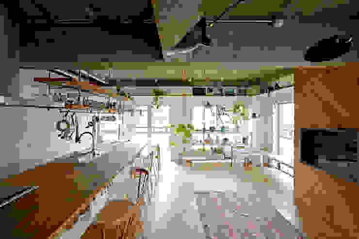 .8 / TENHACHI Industrial style kitchen