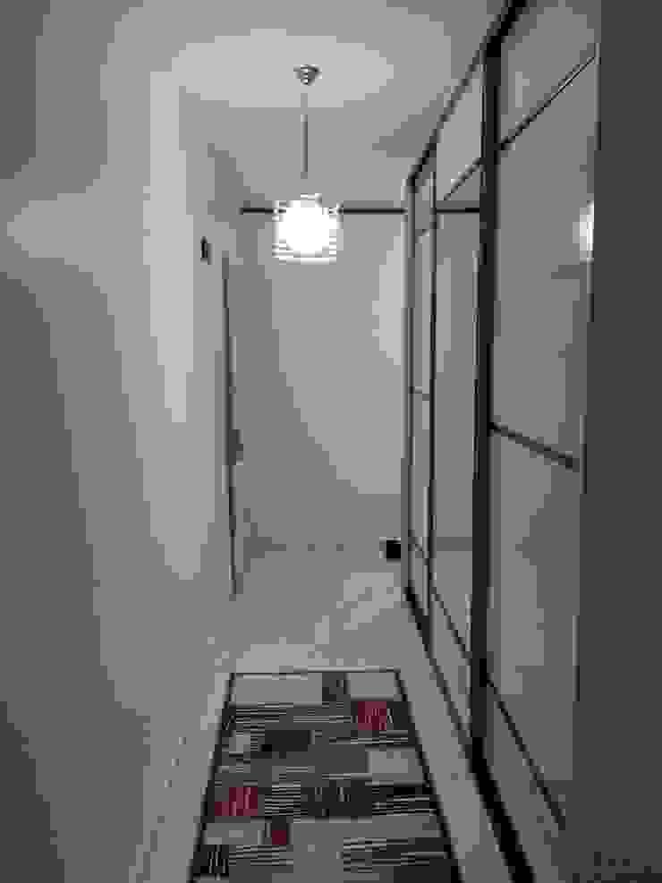 Arife HOCAM Modern Koridor, Hol & Merdivenler Blue Home Modern