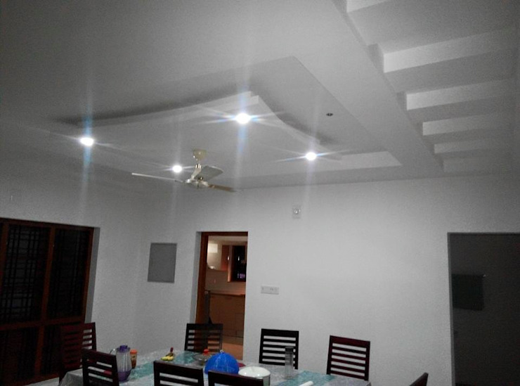 Bangalow Modern dining room by homecenterktm Modern