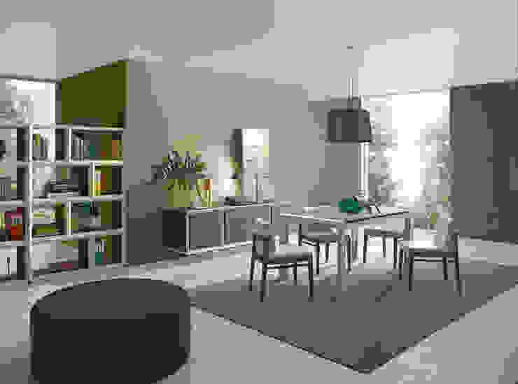 Moverel Salas de jantar modernas por MOVEREL-Indústria de Mobiliário, SA Moderno