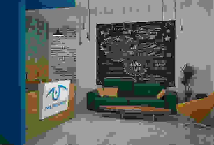 Офисное пространство Офисные помещения в стиле лофт от MEL design Лофт