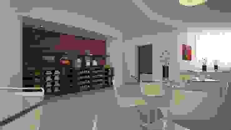 Гостиницы в стиле модерн от Studio Gianluca Centurani Модерн