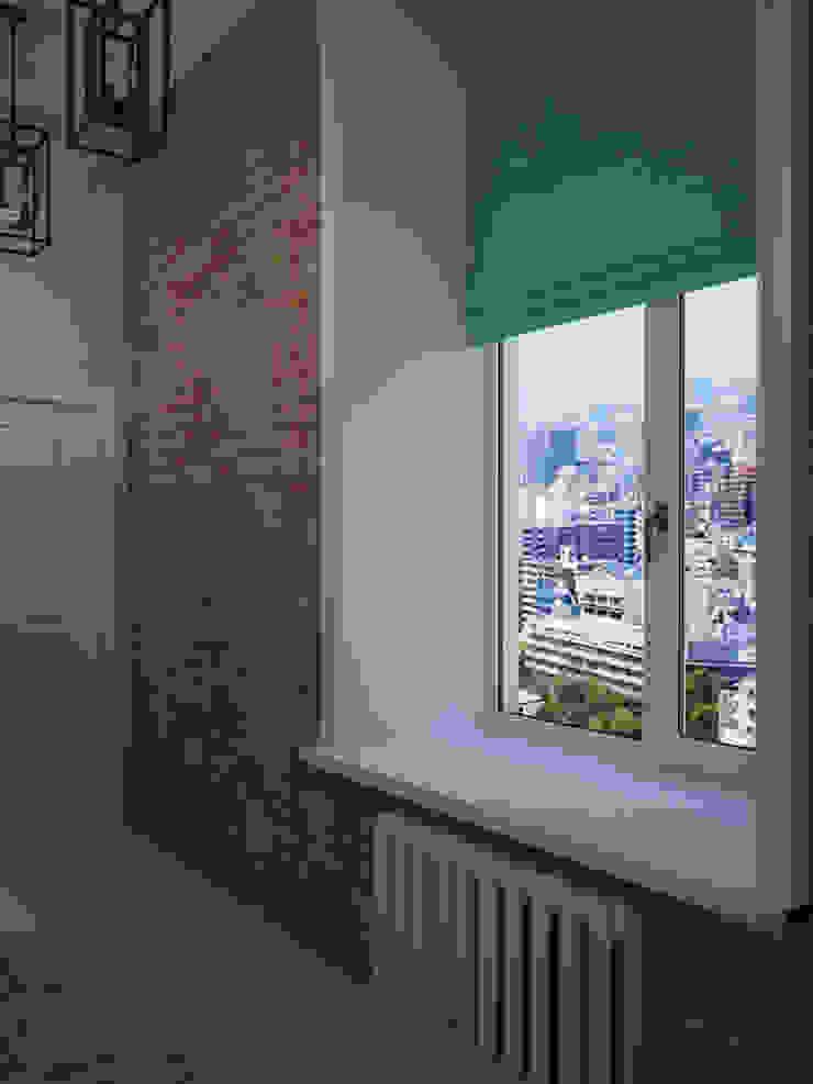 Лофт в небольшой квартире Коридор, прихожая и лестница в стиле лофт от MEL design Лофт