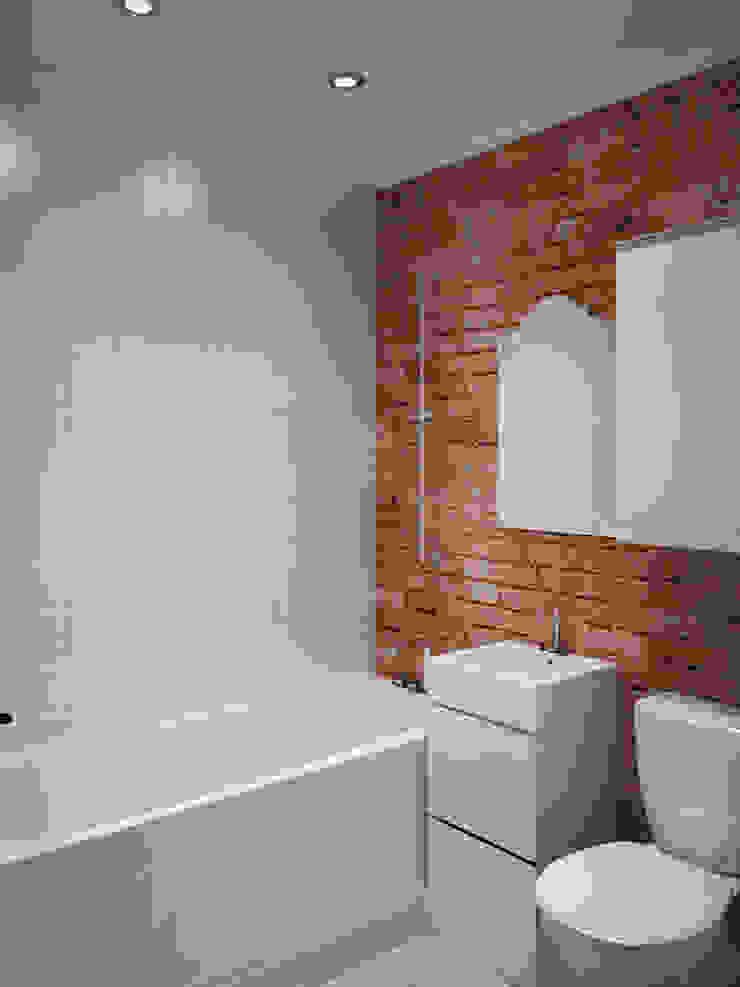 Лофт в небольшой квартире Ванная в стиле лофт от MEL design Лофт
