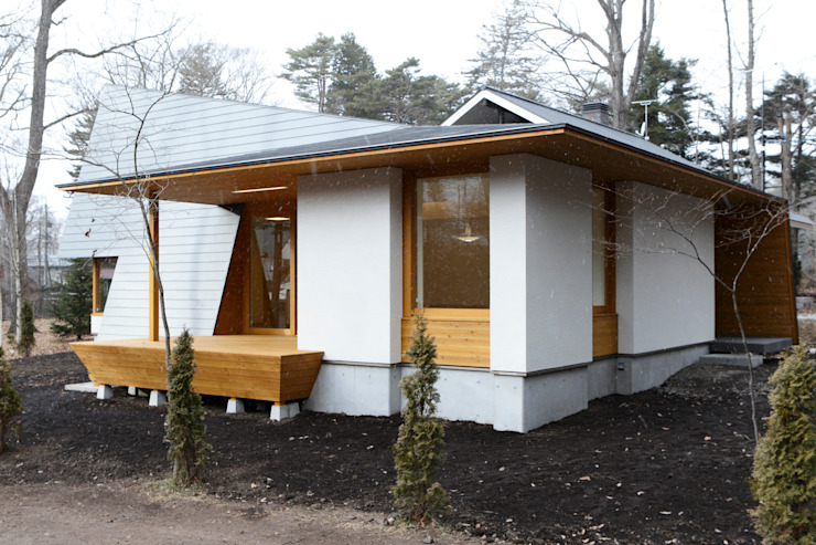 軽井沢O邸 オリジナルな 家 の 一級建築士事務所マルスプランニング合同会社 オリジナル