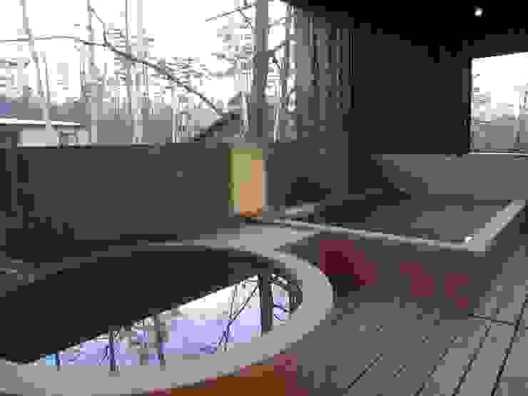 河口湖T庵 オリジナルスタイルの お風呂 の 一級建築士事務所マルスプランニング合同会社 オリジナル