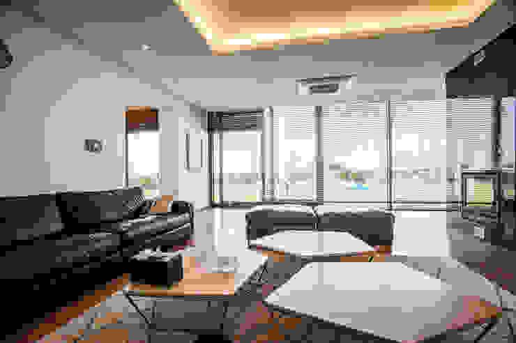 Salon moderne par ZeroLimitsArchitects Moderne